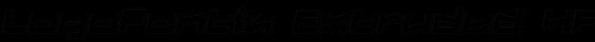 Logofontikextruded4f Italic